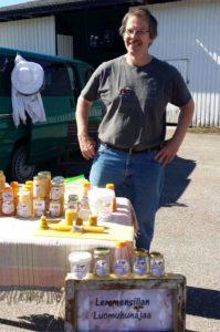 Hunajatarhuri markkinoilla